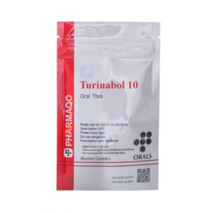 Pharmaqo Labs Turinabol 10mg x 100 tabs