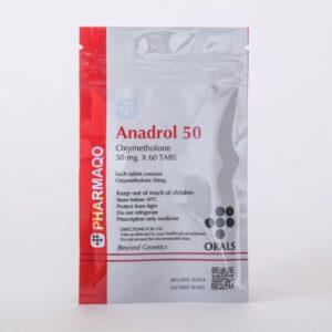 Pharmaqo Labs Anadrol 50 60 tabs x 50mg
