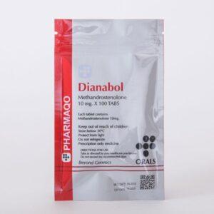 Pharmaqo Labs Dianabol 100 tabs x 10mg