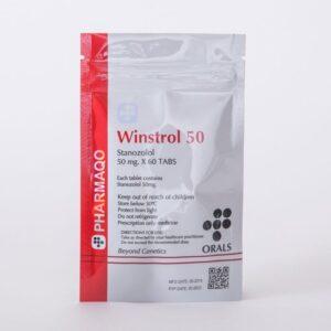 Pharmaqo Labs Winstrol 50 60 tabs x 50mg